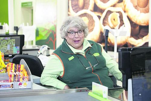 Trollied with Miriam Margoyles image credit Sky 1